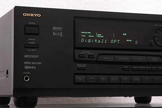 Amazon.com : Onkyo TX DS555 5.1 Channel 350 Watt Receiver w/ Remote : Everything Else