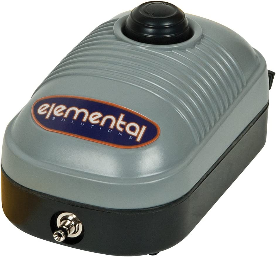 Elemental O2 Air Pump 44 GPH One Outlet