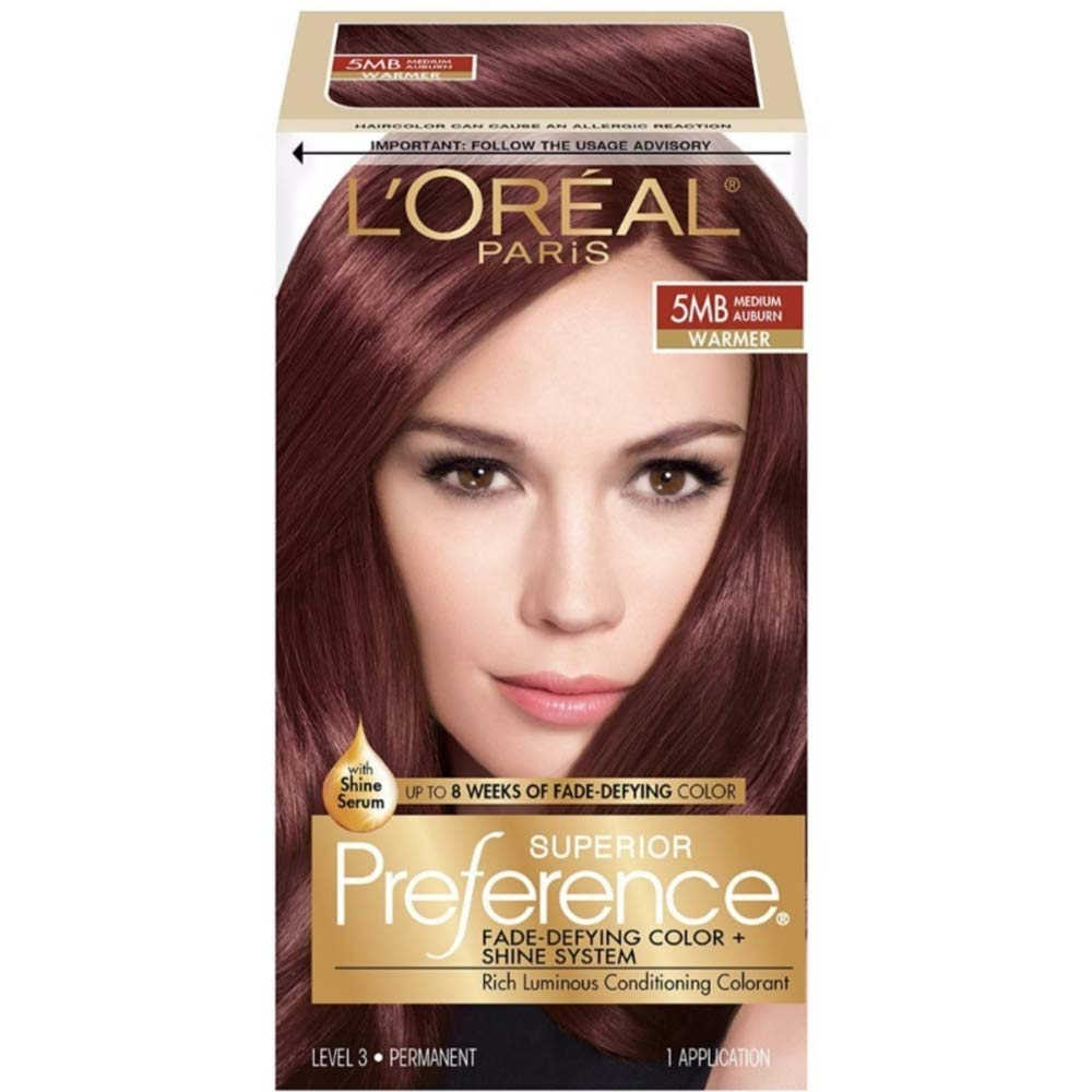 Loreal Preference Auburn Topsimages