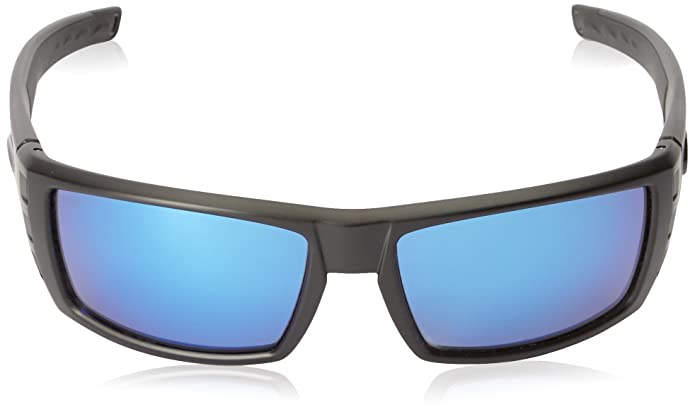 cd0bb3530f Amazon.com  Costa Del Mar Rafael Sunglasses Blackout   Blue Mirror  580Glass  Clothing