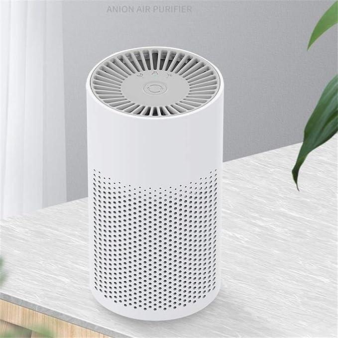 Iones negativos del coche purificadores de aire portátil de casa inteligente Esterilizador para fumadores Habitación Virus Cocina Despacho Estudio de la sala de estar: Amazon.es: Bricolaje y herramientas
