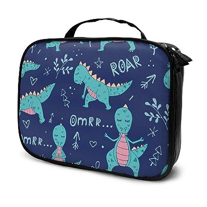 Bolsas de cosméticos para viajes de mujeres, Dinosaurio en ...