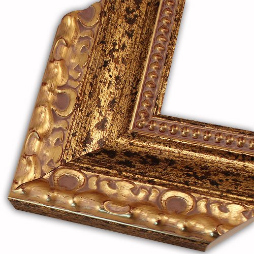 Lourdes Gold Picture Frame-Solid Wood, 8x10