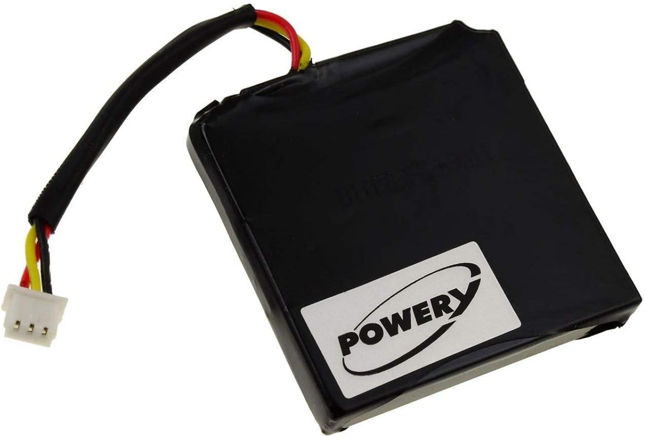 Powery Batería para GPS Navigation Tomtom Via Live 125