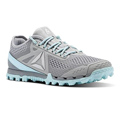 Reebok Damen At Super 3.0 Stealth Traillaufschuhe, Grau (Stark Grey/Flat Grey/Blue Lagoon/Wht 000), 37.5 EU