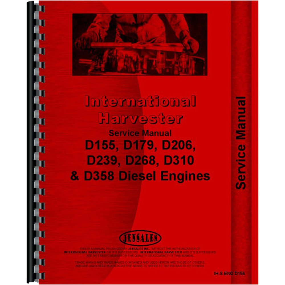 Amazon.com: New Aftermarket Tractor Manual Kit for Case/IH 385 454 464 484  574 584 674 +: Industrial & Scientific