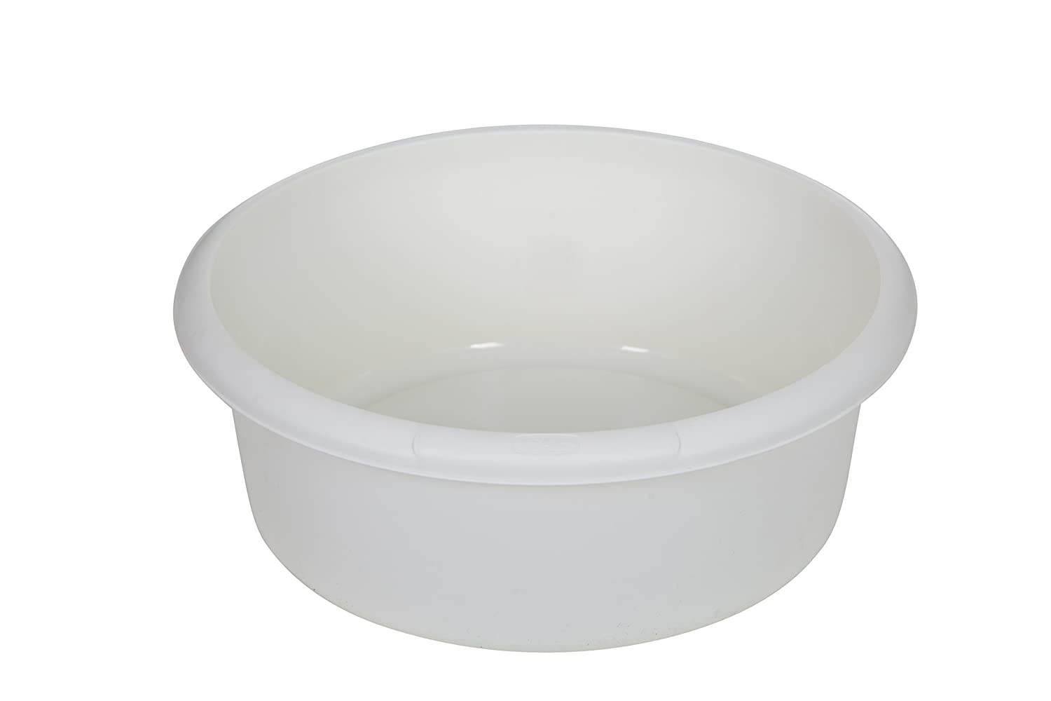 Amazon.com: Whitefurze Plastic Round Washing Up Kitchen Sink Bowl ...