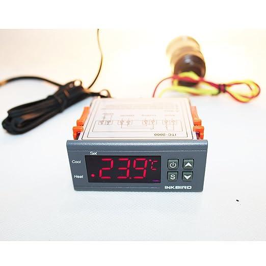 12 opinioni per Inkbird ITC-1000 12V Dual Relè Digitale