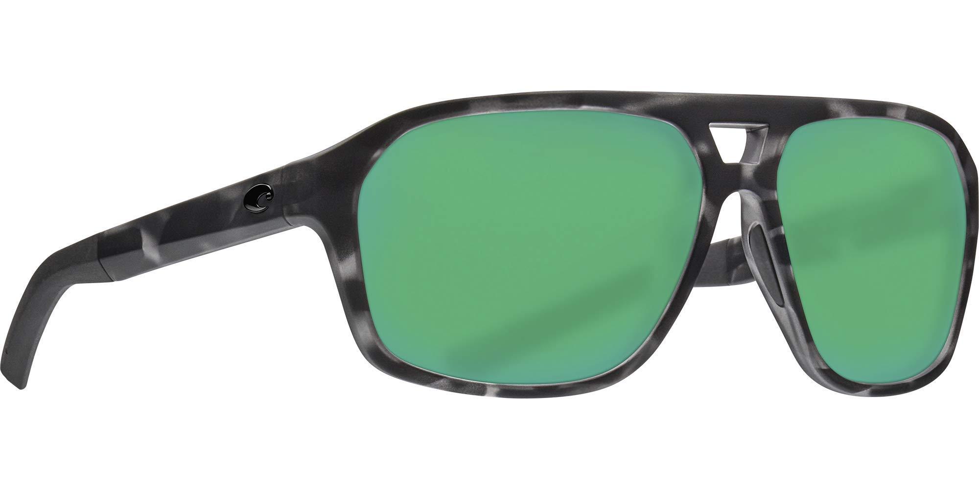 Costa Del Mar Ocearch Switchfoot Sunglasses Tiger Shark/Green Mirror 580Plastic by Costa Del Mar