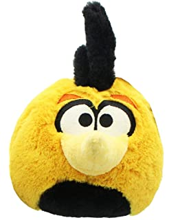 Angry Birds Plush 5-Inch Orange Globe Bird with Sound(Discontinued by manufacturer)