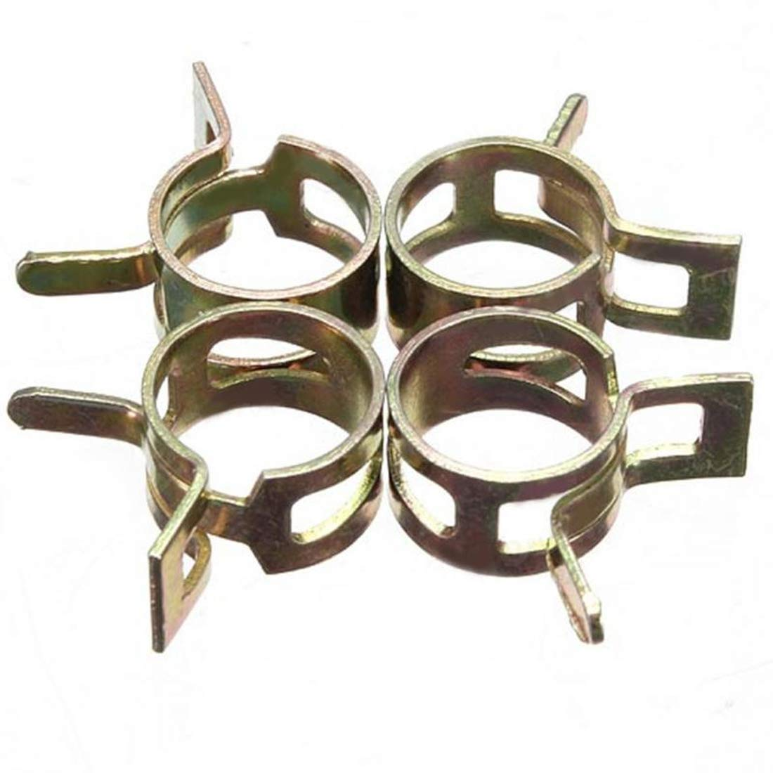 ATezi 10 PCS 6-15mm Ressort Bande Clips De Tuyau De Carburant Conduits De Carburant Clips De Tuyau deau Tuyau dair Tube De Silicone Aspirateur Tuyau Pince Fixation