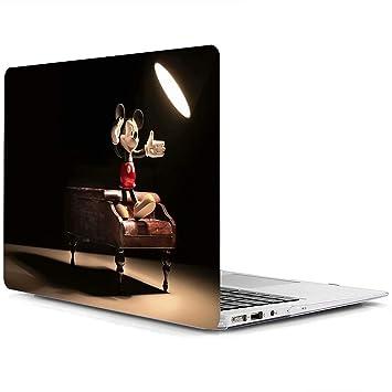 AQYLQ Funda Dura para MacBook Air 13 Pulgadas (A1369 / A1466), Ultra Delgado Carcasa Rígida Protector de Plástico Acabado Mate Cubierta, DH-21 Disney ...