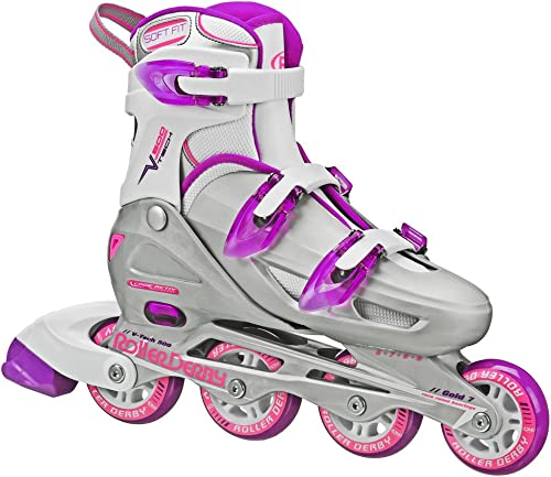 Roller Derby Women s V-Tech 500 Button Adjustable Inline Skate