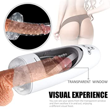 Automatic Male Masturbater Cup Intelligent Rotating Realistic Pocket Vagina Thrusting Retractable Pussy Sleeve With