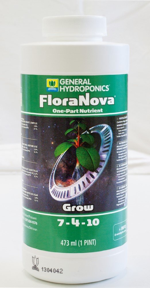 Dü nger / Dü ngemittel GHE FloraNova Grow (473ml)