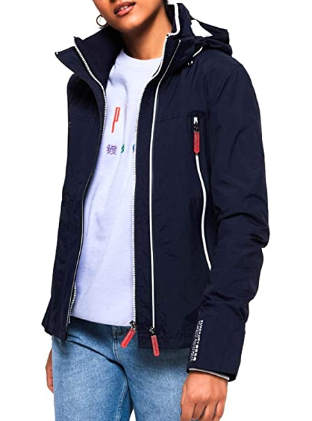 premium selection c5b0c 3f99b Superdry G50109CT Jacke Frauen: Amazon.de: Bekleidung