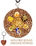 Luvin Life Metatrons Cube 7 Chakras Crystals Stone Orgone Pendant Generator EMF Protection. END OF LINE CLEARANCE with Bonus Amethyst Key Ring and Free E-Book.