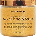The BEST 24K Gold Scrub for Face and Body 8.8 oz reduces the...