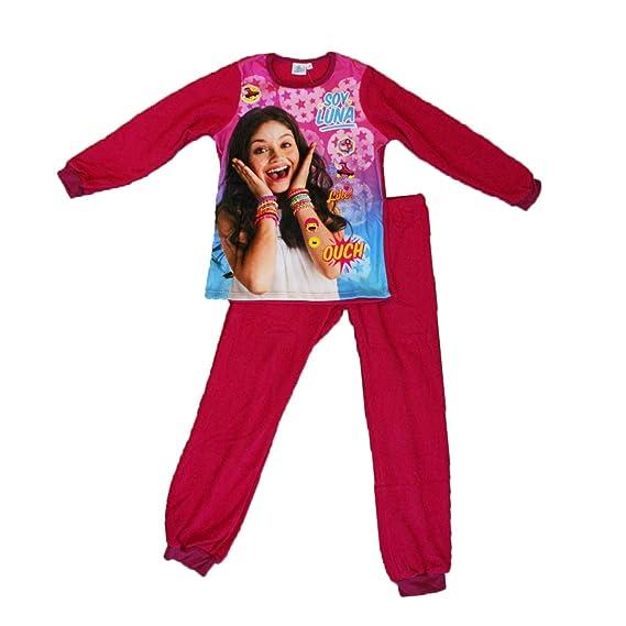 64a1e7d397927 Soy Luna Ensemble Pyjama Polaire Haut + Bas Fille: Amazon.fr ...