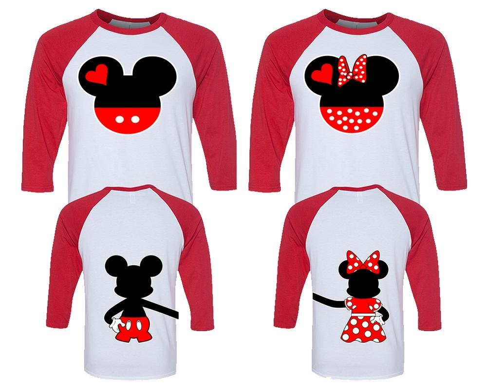 Amazon.com: Mickey and Minnie Couple Shirts, Matching Couple Shirts ...