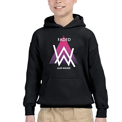 0f2389335f520 Amazon.com: Little Boys Girls Hoodies Alan Walker Kids Sweatshirt ...
