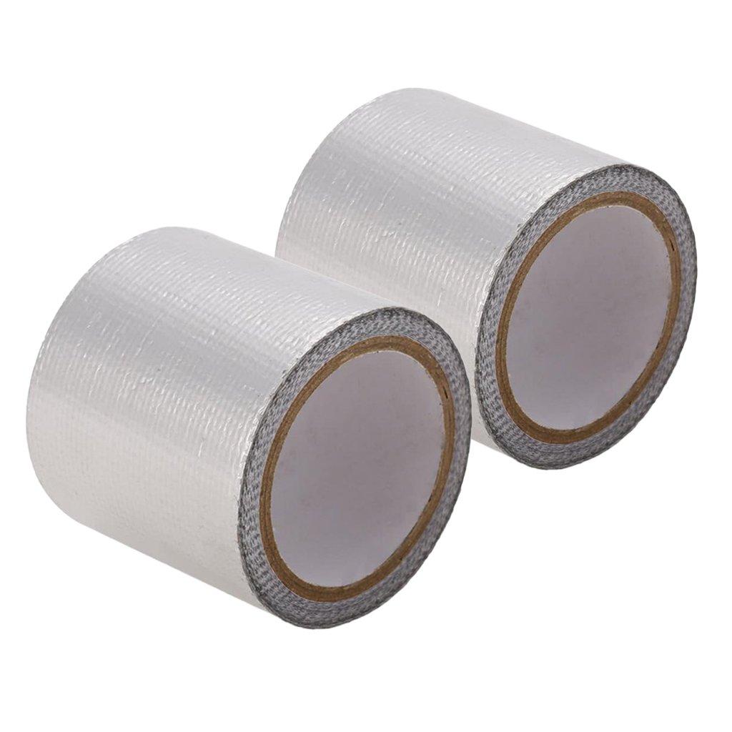 Sharplace 2pcs Bande Ruban Adhesif en Aluminium pour Coque Carrosserie de Modèle Voiture RC 1/8 1/10 1/16