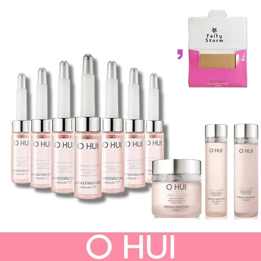 [オフィ/ O HUI]韓国化粧品 LG生活健康/OHUI MIRACLE MOISTURE AMPOULE 777 Special Set /ミラクル モイスチャー アンプル777 7ml*7 特別セット +[Sample Gift](海外直送品) B01N5VK25T