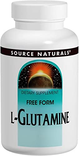 L-Glutamine Powder Source Naturals, Inc. 1 lbs Powder