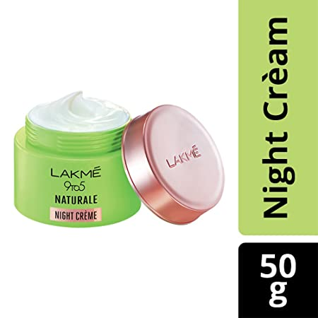 Lakme 9 to 5 Naturale Night CrÃme, 50 g Face Concealer at amazon
