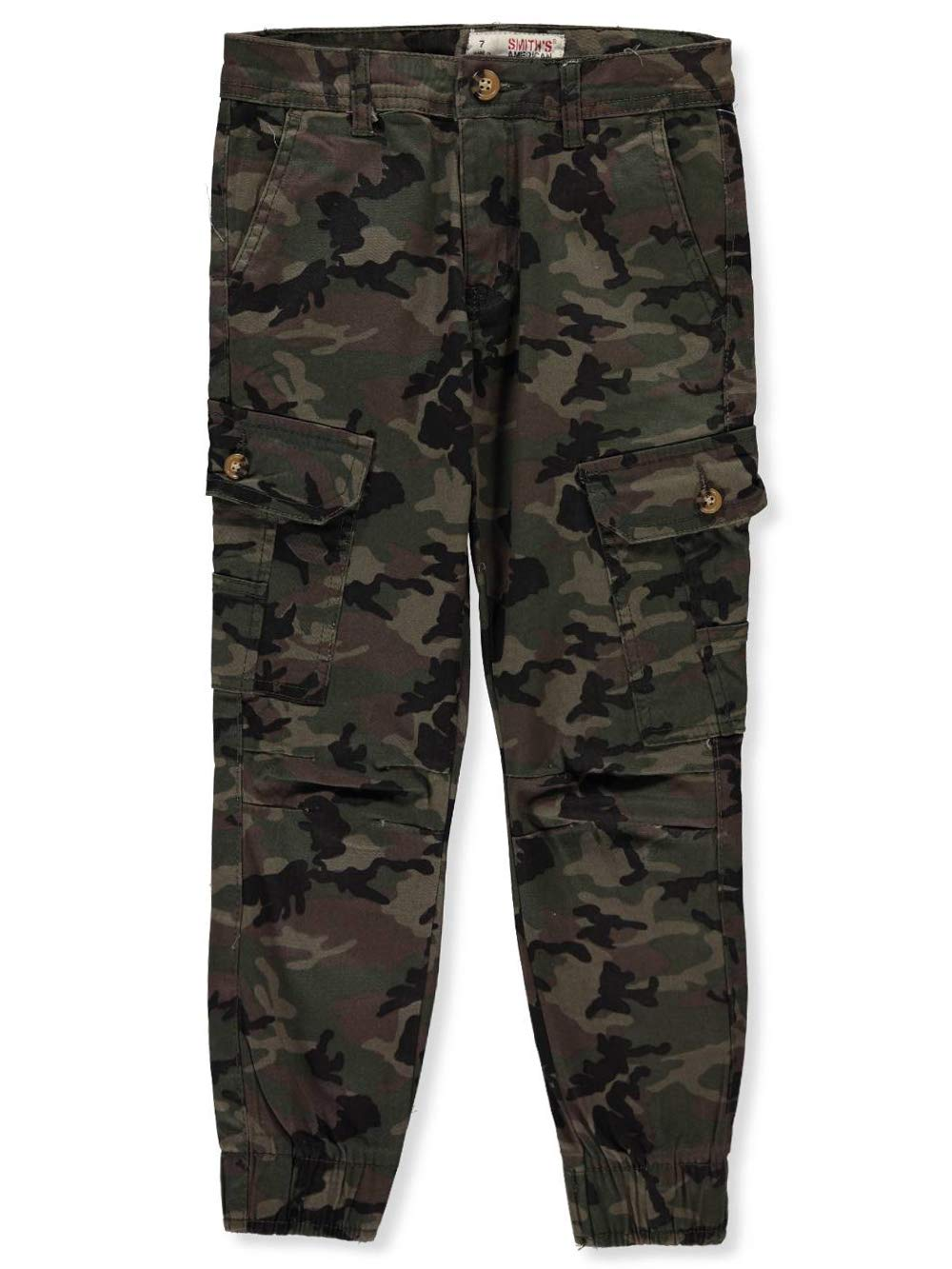 Smith's American Boy's Twill Cargo Joggers Smith' s American