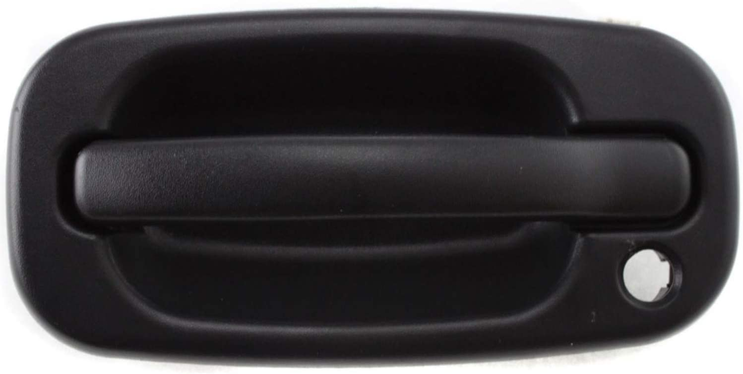 Front Outside Door Handle Textured Black Driver Side Fits Silverado # 15034985