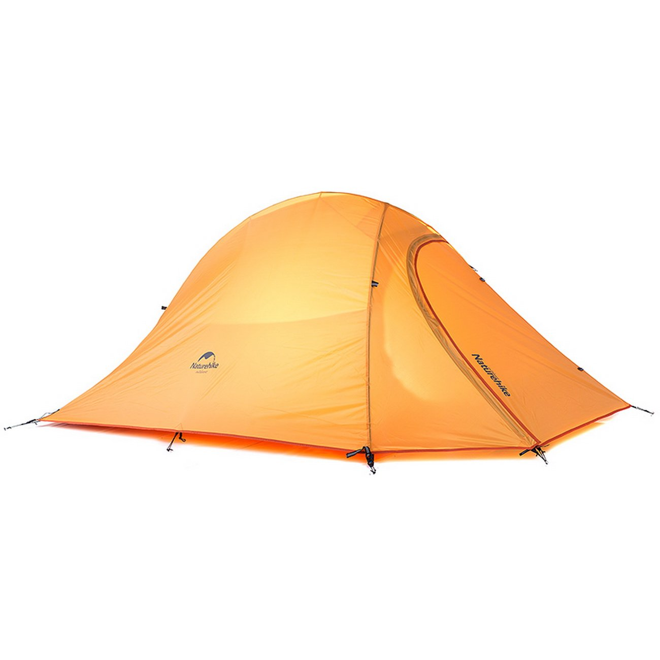 マットNH15T002-Tで2人のためCloudUpシリーズ超軽量ハイキングテント20D / 210Tファブリック  210Tオレンジ B07C8RBLSL