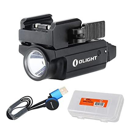OLIGHT PL-Mini 2 Valkyrie 600 Lumen (PL Mini 2) Rechargeable Compact  Flashlight, Fits Glock, Sig Sauer, S&W, Springfield, Walther, Taurus and  All