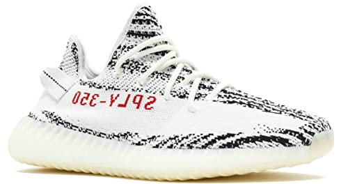 new concept 962cd cb1d7 BESTSALED Yeezy Boost 350 V2 Zebra CP9654 White Red Big Size ...