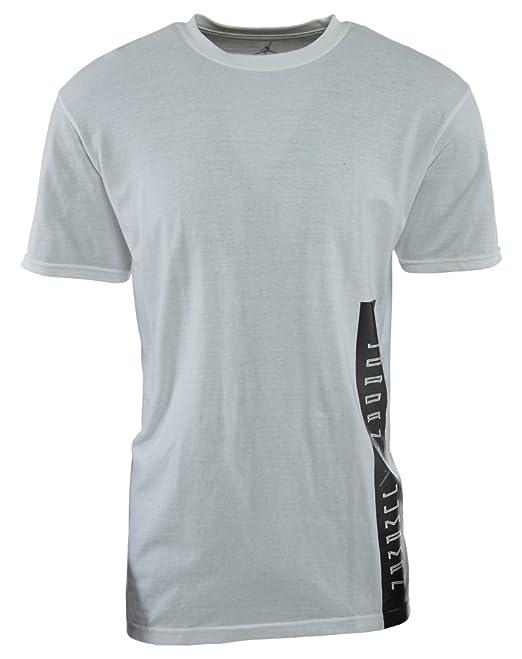 famous brand great quality release date Nike Men's [395339 100] Air Jordan Aj 11 Label Tee Apparel T ...