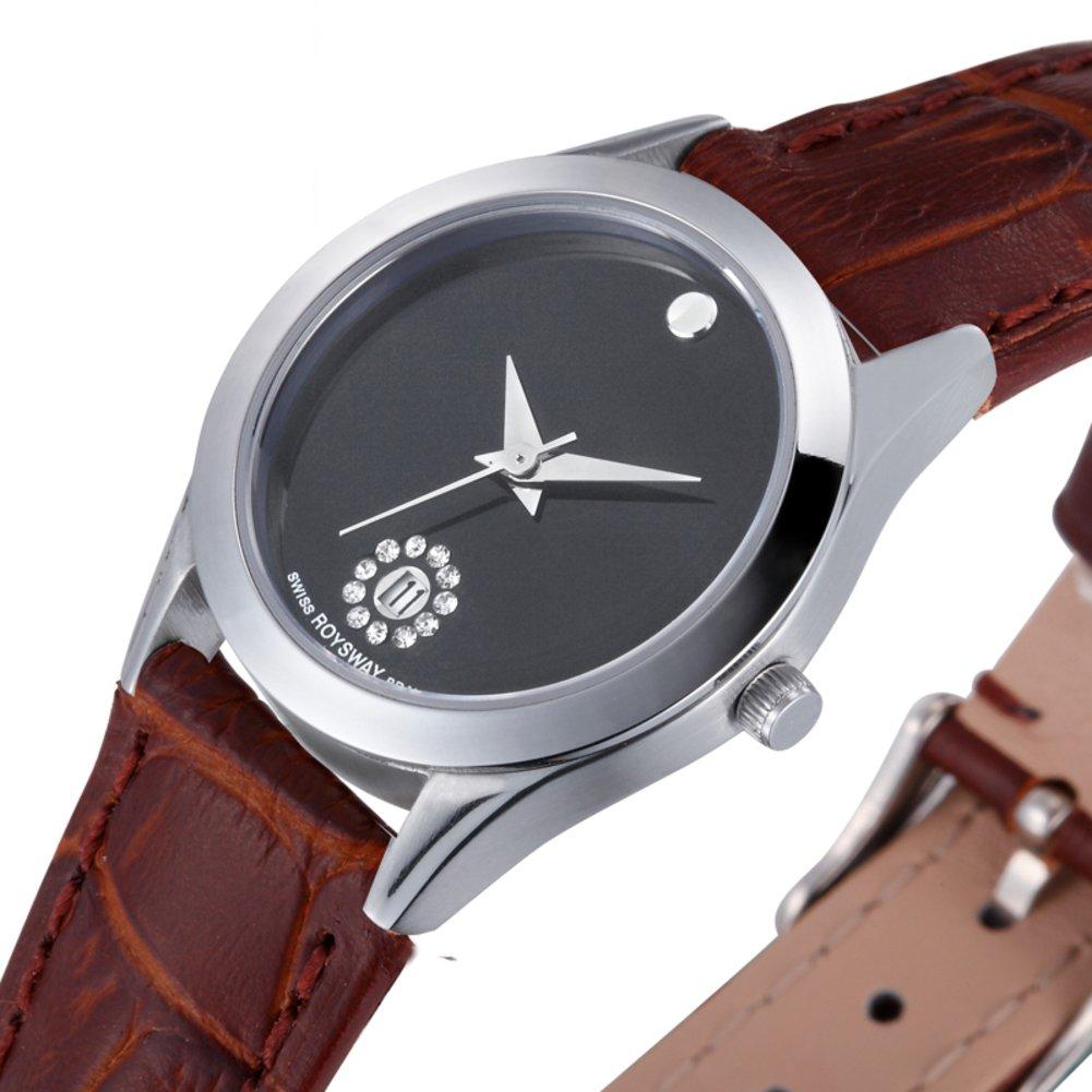 Amazon.com: Fashion ultra thin watch/ strap waterproof watch/Couple quartz wrist watch-B: Watches