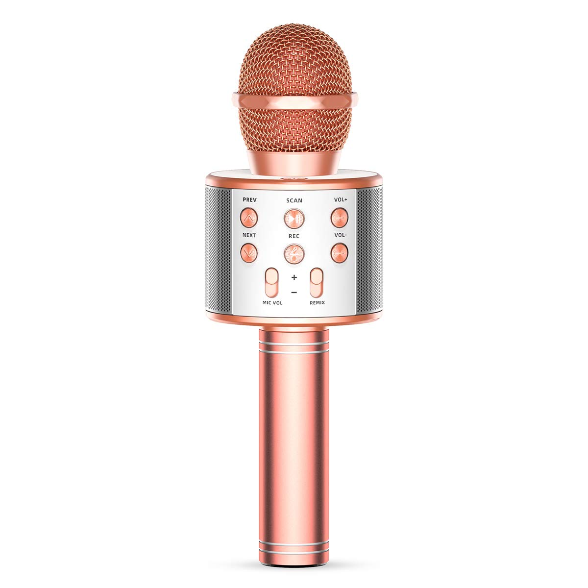 TRONICMASTER Wireless Karaoke Microphone Bluetooth, 3 in 1 Wireless Portable Handheld Mic Karaoke Machine for Christmas Home Birthday Party, Voice Disguiser Karaoke Microphone for Kids by Tronic Master