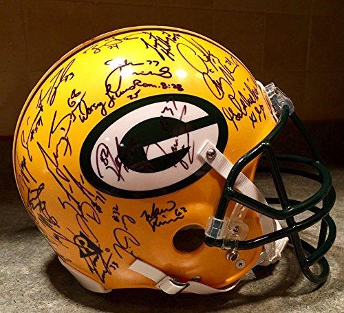 Packers SB XXXI LE Team Signed Brett Favre Reggie White