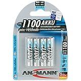 Ansmann 5035232 4xAAA 1100mAh Rechargable Battery NiMH Digital