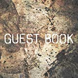 Guest Book: Rustic Sign in Book for Wedding, Baby Shower, Birthday Party, Anniversary, Cabin, Airbnb, Guest Room, Bathroom, Art Gallery, Office (112 Pages)