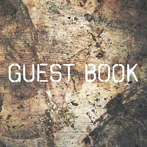 - Guest Book: Rustic Sign in Book for Wedding, Baby Shower, Birthday Party, Anniversary, Cabin, Airbnb, Guest Room, Bathroom, Art Gallery, Office (112 Pages)