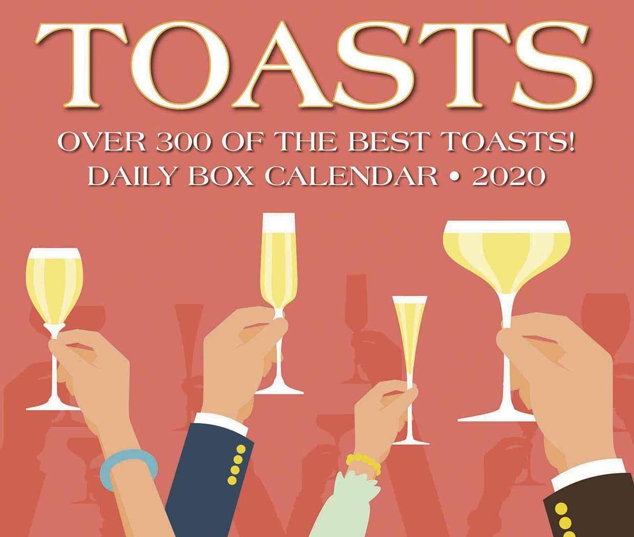 Best Box Wine 2020 Toasts 2020 Box Calendar: Willow Creek Press: 0709786053216