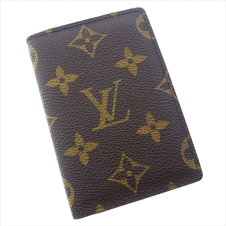 [ルイヴィトン] Louis Vuitton カードケース パスケース メンズ可 オーガナイザードゥポッシュ M60502 モノグラム 中古 Y1870 B0772RLJWH