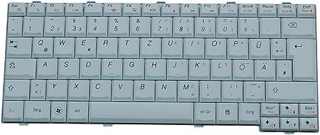 Teclado Lenovo IdeaPad S12 Serie DE Nuevo Blanco ...