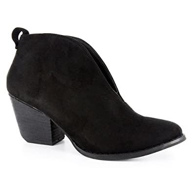 Women's Holiday Black Boots 7