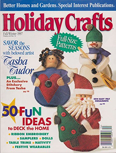 Better Homes and Gardens Holiday Crafts Fall/ Winter 1997