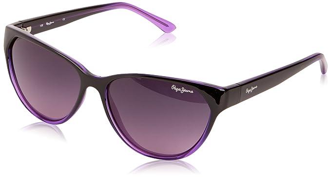 Pepe Jeans - Lunette de soleil Aylin Œil de chat - Femme, Purple Gradient b5721851bb87