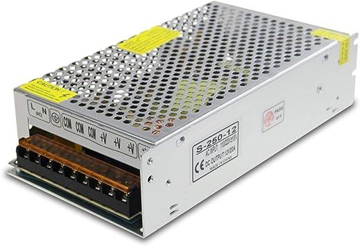 DC 12V 24V 2A-30A LED Netzteil Trafo Schaltnetzteil Adapter Treiber Power Supply