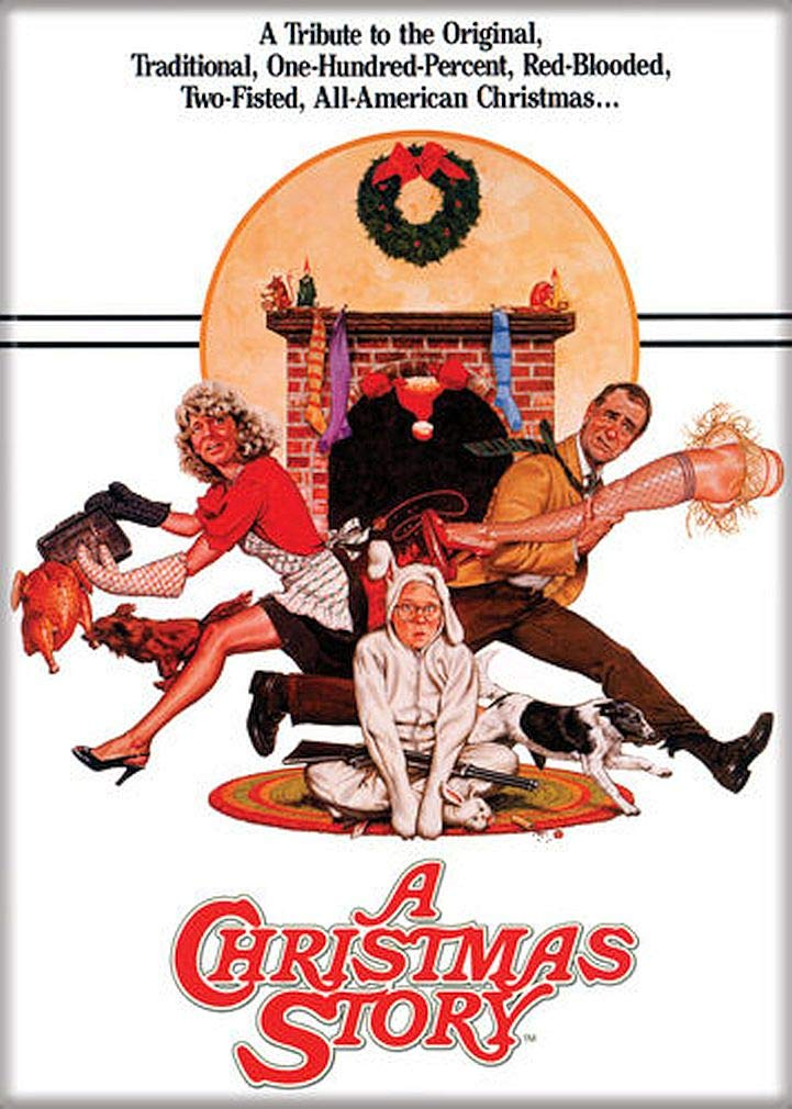 """Ata-Boy A Christmas Story Movie Poster 2.5"""" x 3.5"""" Magnet for Refrigerators and Lockers"""