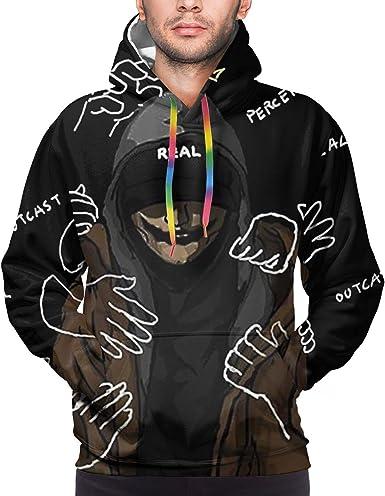 Amazon.com: Nf Rapper Mens Hoodie Long Sleeve Concert ...